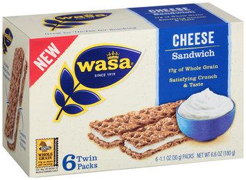 Wasa® Cheese Sandwich 6-1.1 oz. Packs