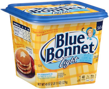 Blue Bonnet® Light 31% Vegetable Oil Spread Tub 45 oz. Tub