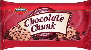 Springfield® Premium Chocolate Chunk Cookies 13 oz. Tray