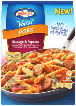Birds Eye® Voila!® Pork Sausage & Peppers 21 oz. Bag