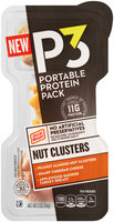 Oscar Mayer P3 Nut Clusters Peanut Almond Nut Clusters, Cheddar & Turkey Breast Portable Protein Pack 2 oz. Tray