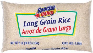 Special Value Long Grain Rice