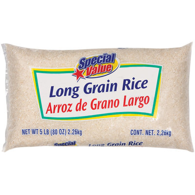 Special Value Long Grain Rice