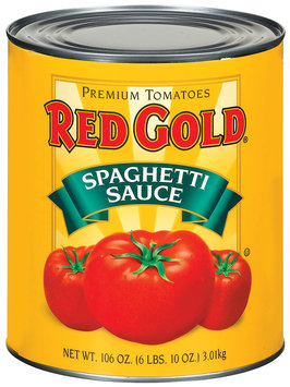 Red Gold  Spaghetti Sauce 106 Oz Can