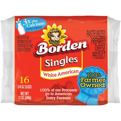 Borden® White American Singles 16 ct Pack