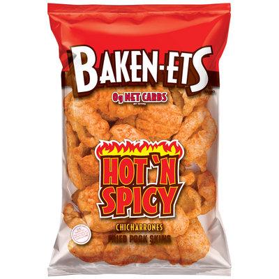 Baken-ets® Brand Hot 'N Spicy Fried Pork Skins 2.375 oz. Bag
