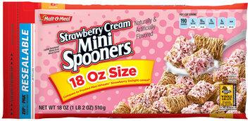 Malt-O-Meal® Strawberry Cream Mini Spooners® Cereal  18 oz. ZIP-PAK