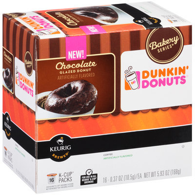 Dunkin' Donuts Chocolate Glazed Donut Coffee K-Cups
