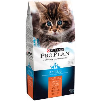 Purina Pro Plan Focus Kitten Chicken & Rice Formula Cat Food 3.5 lb. Bag
