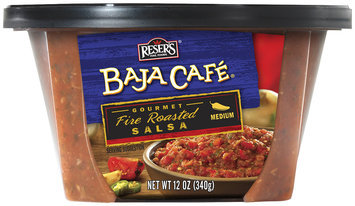 Reser's® Baja Cafe® Medium Gourmet Fire Roasted Salsa 12 oz. Tub