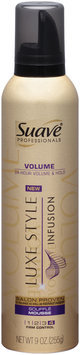 Suave Professionals® Luxe Style Infusion Firm Control 4 Volume Souffle Mousse 9 oz. Aerosol Can