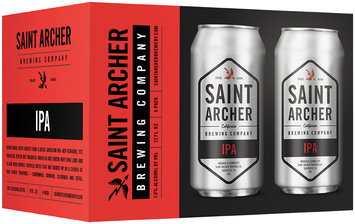 Saint Archer Brewing Company IPA Beer 6-12 fl. oz. Cans