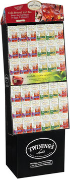 Twinings® Cold Brewed Iced Tea Assorted Flavors Display