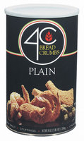 4C Plain Bread Crumbs 46 Oz Canister