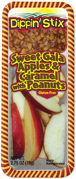 Reichel® Dippin' Stix® Sweet Gala Apples & Caramel with Peanuts