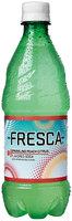 Fresca Peach Soda 20 oz Plastic Bottle