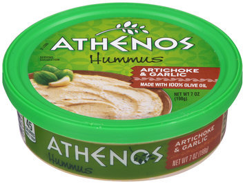 Athenos Artichoke & Garlic Hummus 7 oz. Tub