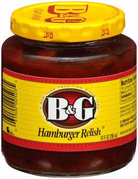 B&G® Hamburger Relish 10 fl. oz. Bottle
