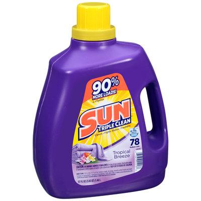 Sun Triple Clean® Tropical Breeze® Liquid Laundry Detergent 117 fl. oz. Jug