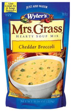 WYLER'S Cheddar Broccoli Soup Starter Soup Mix 7.06 OZ POUCH