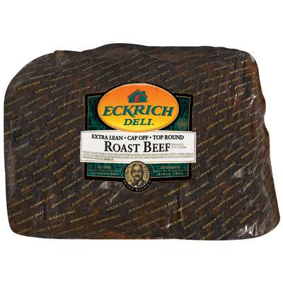 Eckrich Cap Off Top Round Roast Beef Deli - Roast Beef