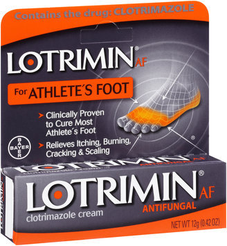Lotrimin® AF for Athlete's Foot Antifungal Clotrimazole Cream 0.42 oz. Box