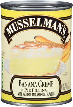 Musselman's® Banana Creme Pie Filling 21 oz. Can