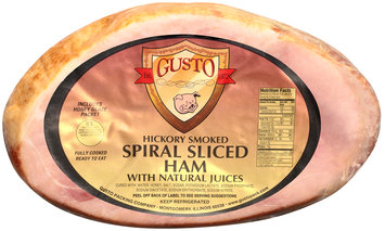 Hickory Smoked Spiral Sliced Ham with Natural Juices
