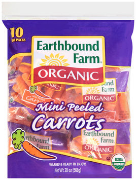Earthbound Farm® Organic Mini Peeled Carrots 10 ct Bag
