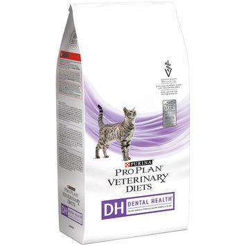 Purina Pro Plan Veterinary Diets DH Dental Health Feline Formula Cat Food 6 lb. Bag