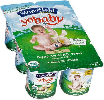 Stonyfield Organic™ YoBaby® Vanilla Yogurt 6-4 oz. Cups