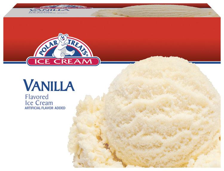 Polar Treats Vanilla Ice Cream