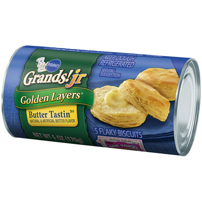 Pillsbury Grands!® Jr Golden Layers® Butter Tastin'® Biscuits 5 ct. Can