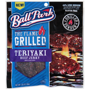 Ball Park® The Flame Grilled Teriyaki Beef Jerky 2.85 oz.