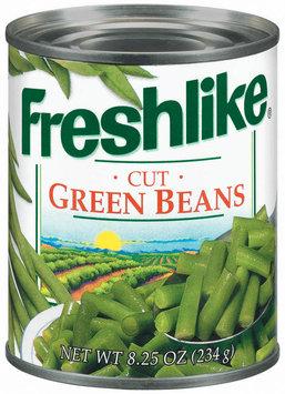 Freshlike Cut Green Beans 8.25 Oz Can