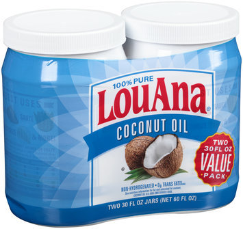 LouAna® 100% Pure Coconut Oil 60 fl. oz. Pack