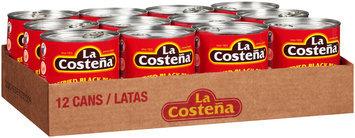 La Costena® Refried Black Beans 12-28.9 oz. Cans