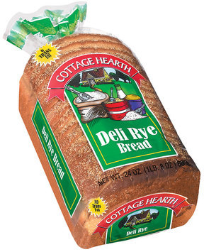 Cottage Hearth Deli Rye Bread 24 Oz Bag