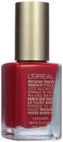 L'Oréal Paris Colour Riche Collection Exclusive Nail Color 726 Because You're Worth It Red 0.39 fl. oz. Bottle