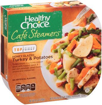 Healthy Choice® Cafe Steamers® Top Chef Honey Glazed Turkey & Potatoes 9.5 oz. Sleeve