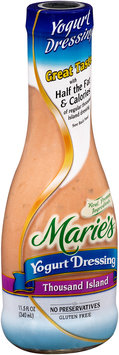 Marie's® Yogurt Dressing Thousand Island 11.5 fl. oz. Bottle