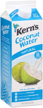 Kern's® Natural Coconut Water 32 fl. oz. Carton