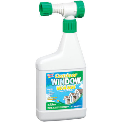 Spray Nine® 23534 Outdoor Window Wash 34 Oz Spray Bottle
