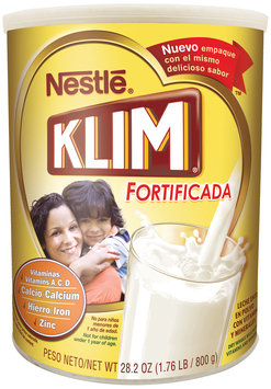 Nestlé KLIM Fortificada Dry Whole Milk Powder
