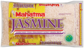 Mahatma Jasmine Enriched Long Grain Thai Fragrant Rice 5 Lb Bag