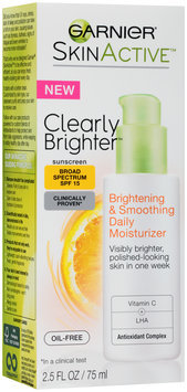 Garnier® Skin Active™ Clearly Brighter™ Brightening & Smoothing Daily Moisturizer with Broad Spectrum SPF 15