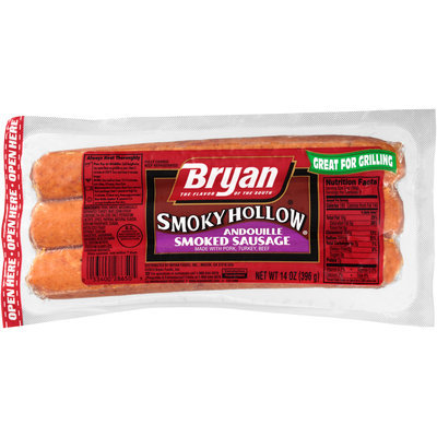 Bryan® Smoky Hollow Andouille Smoked Sausage 14 oz. Pack