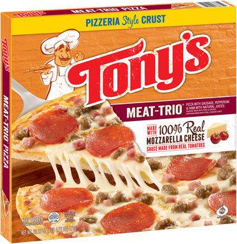 Tony's™ Pizzeria Style Crust Meat-Trio® Pizza 20.13 oz. Box