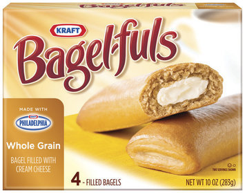 Bagel-Fuls Whole Grain 4 Ct Bagels 10 Oz Box