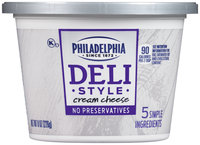 Philadelphia Deli Style Cream Cheese 8 oz. Tub